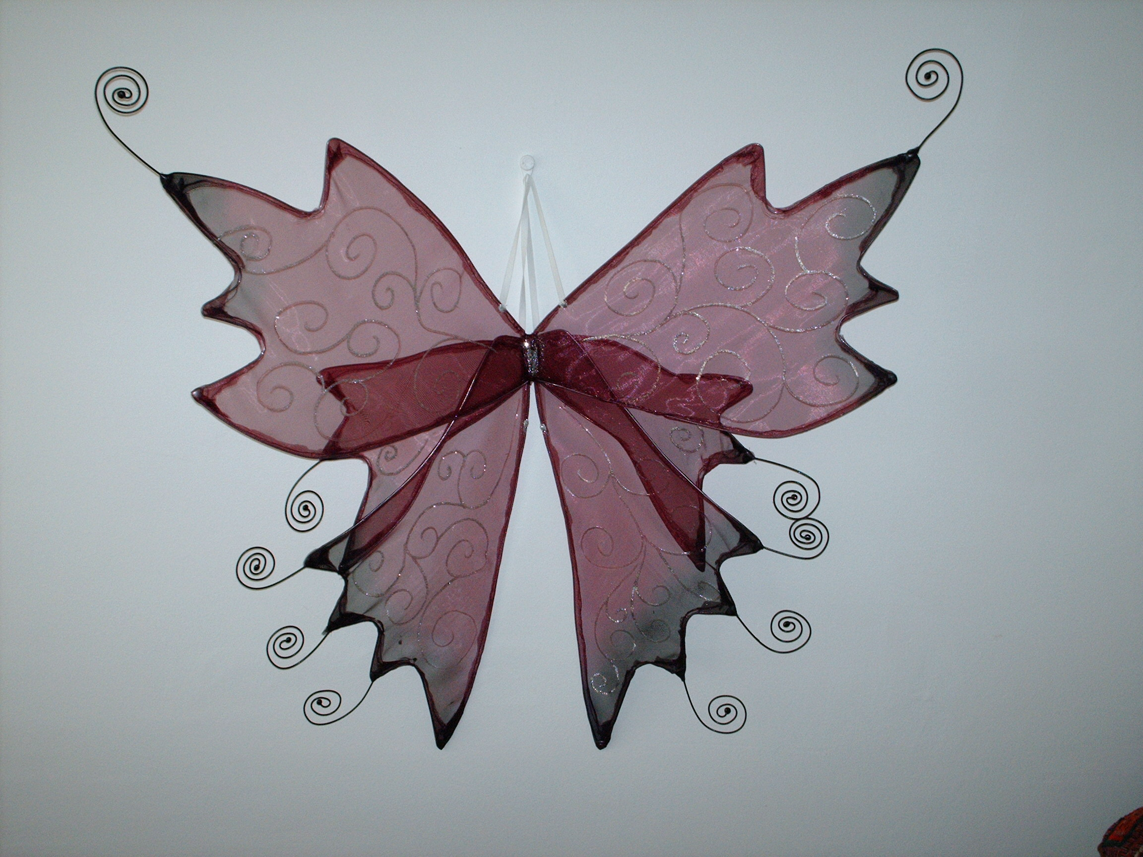 These Gothic faerie wings are available in any colour