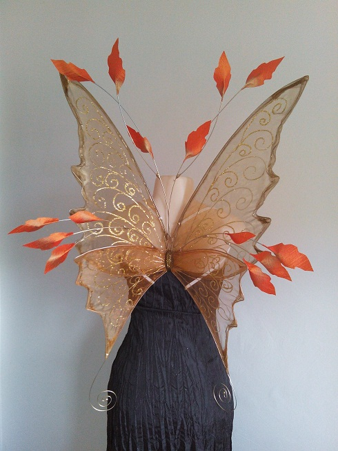 Leafy Custom adult faerie wings