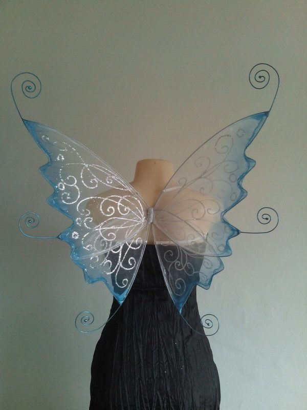 Curly Faerie Wings