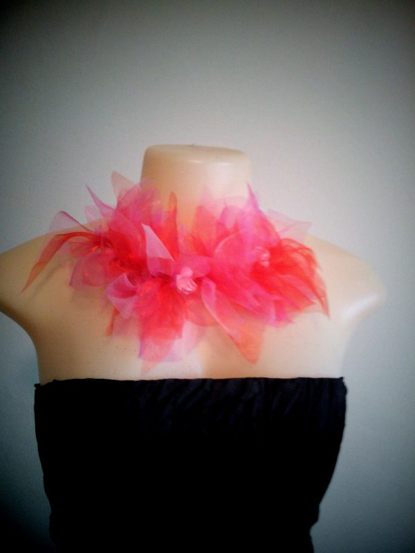 pink faerie flower crown