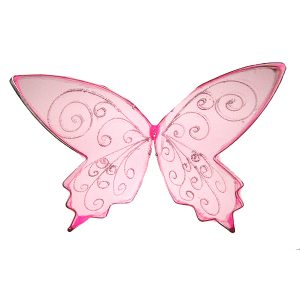 small pink faerie wings