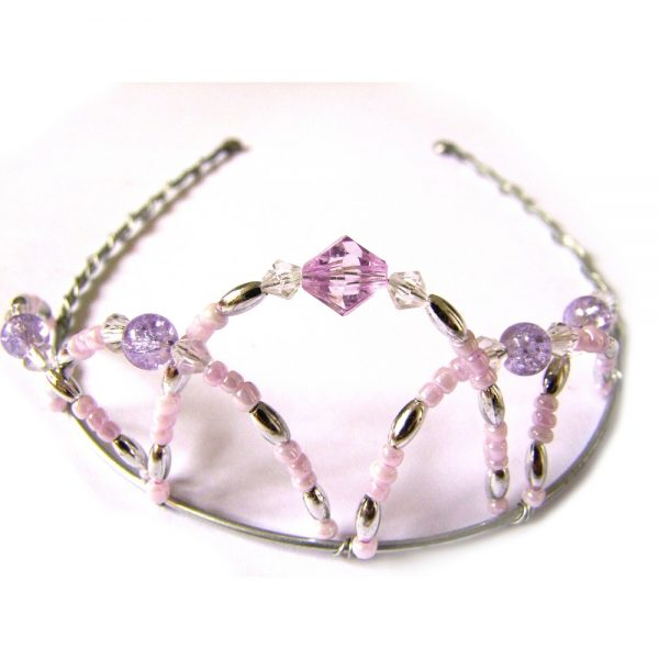 beaded tiara