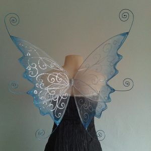 curly faerie wings custom