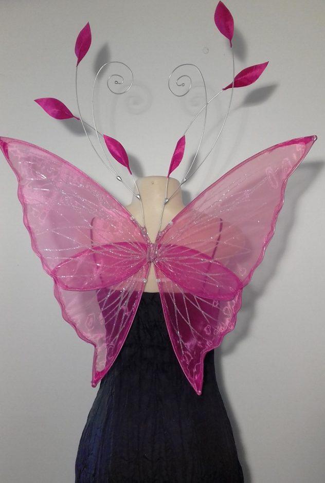 sprite faerie wings in pink