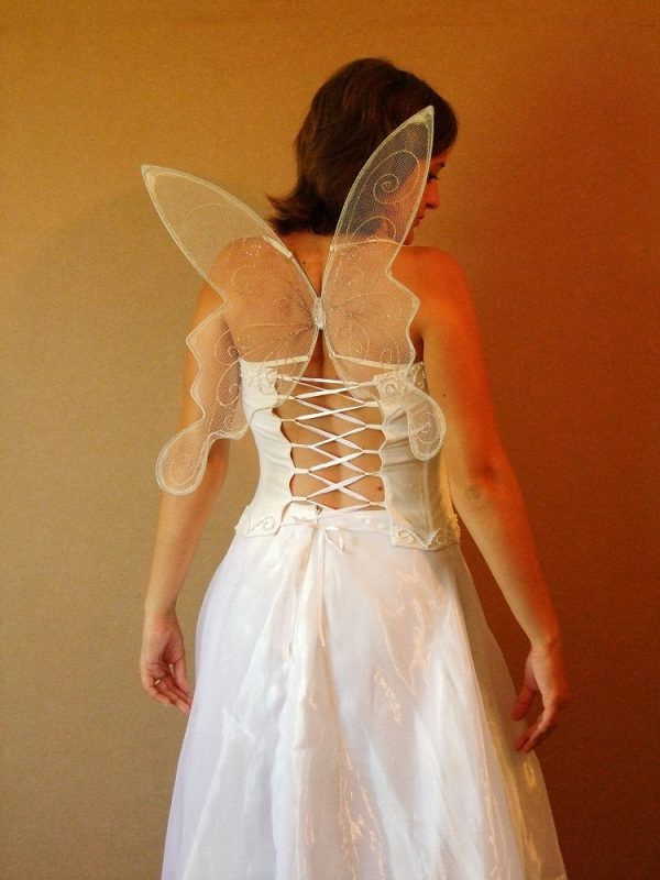 small wedding faerie wings