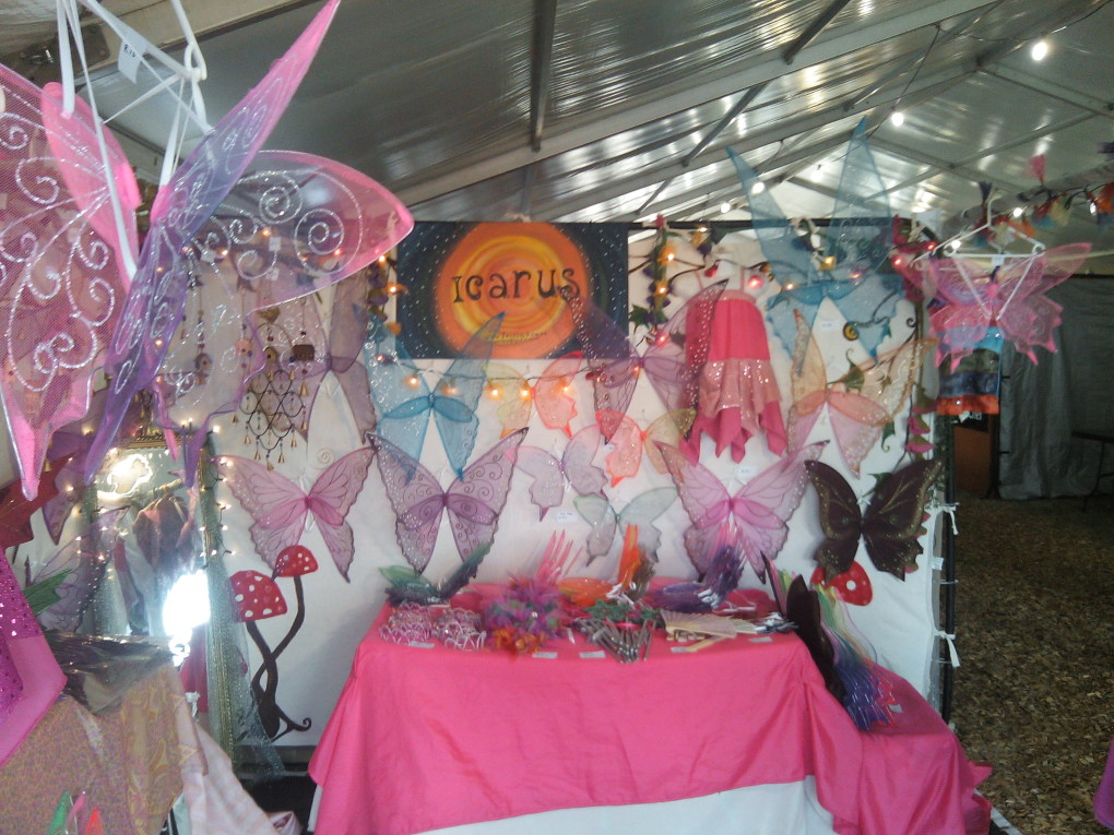 grahamstown arts festival stall