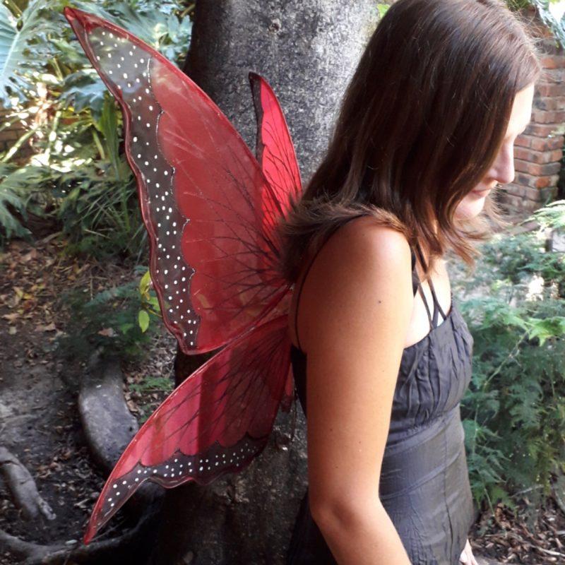 amanita butterfly fairy wings