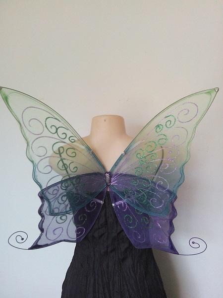 fantasy butterfly fae wings