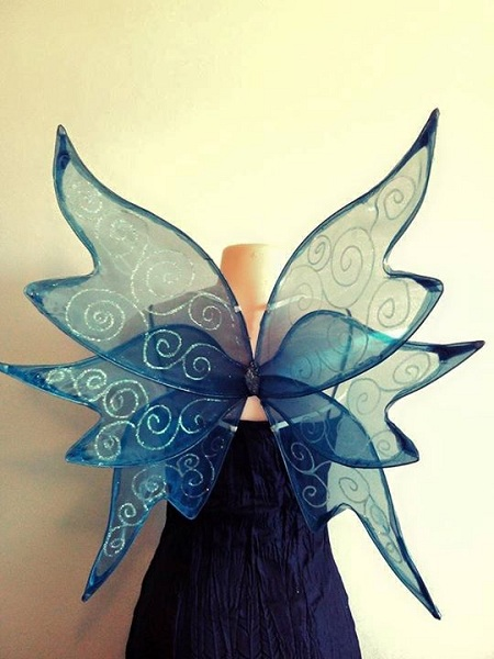 custom medium faerie wings