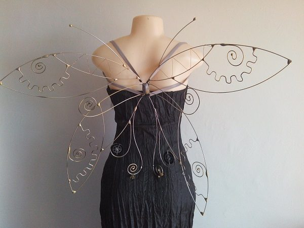steampunk faerie wings