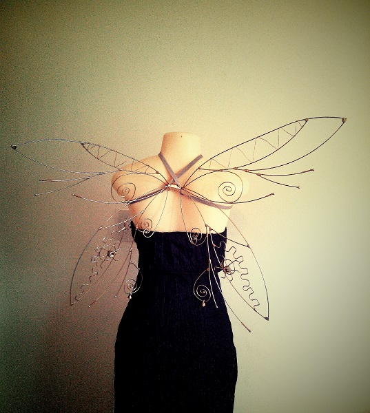 steampunk faerie wings