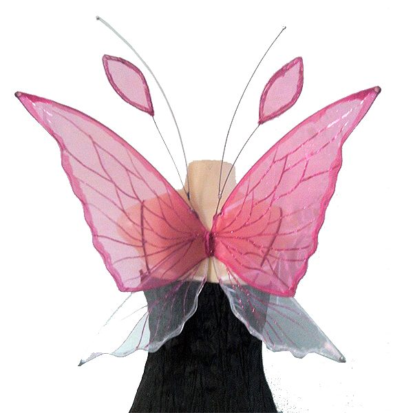 chrysalis pink faerie wings