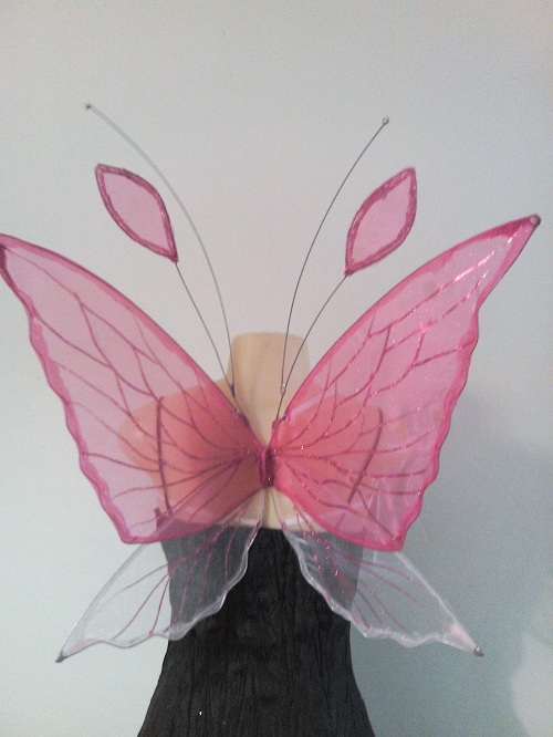 pink chrysalis faerie wings