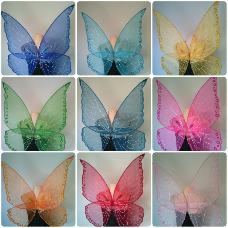 Butterfly wings collage