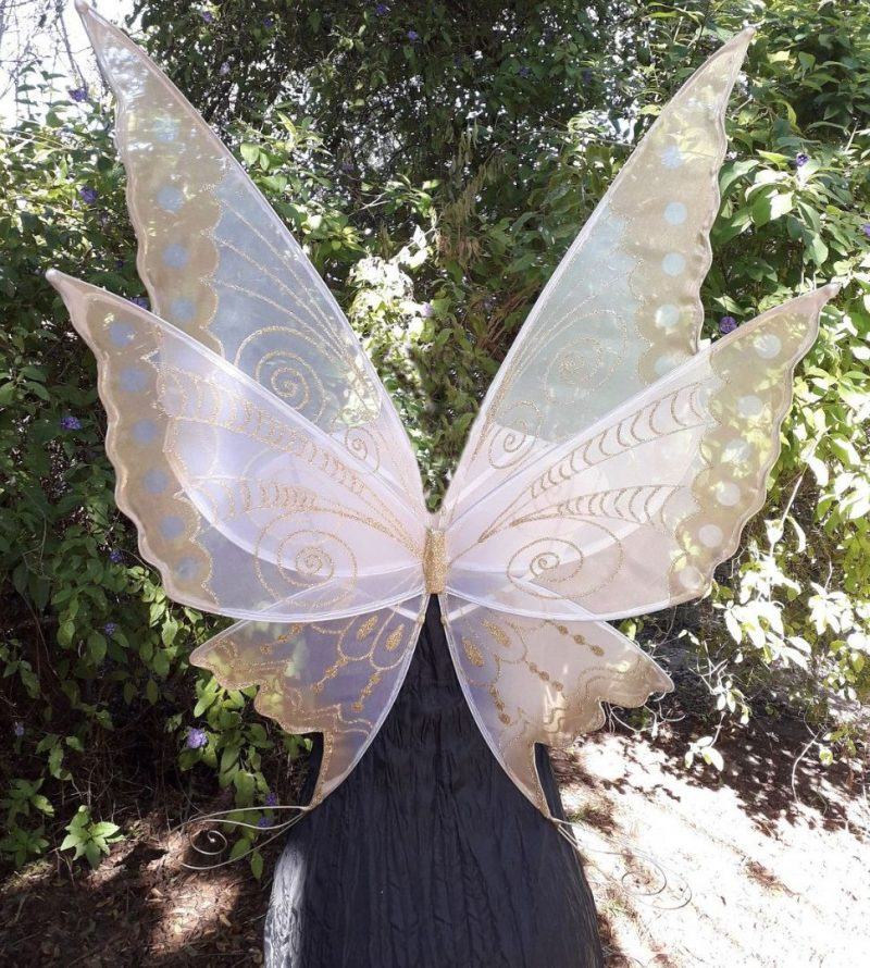 Morning star large fairy wings for adults