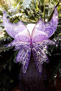 Titania Purple fairy wings