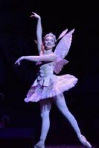 ballet dancer in wings