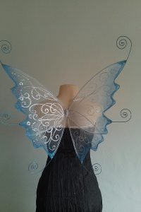 curly faerie wings custom