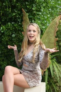 gold fairy wings in adult size